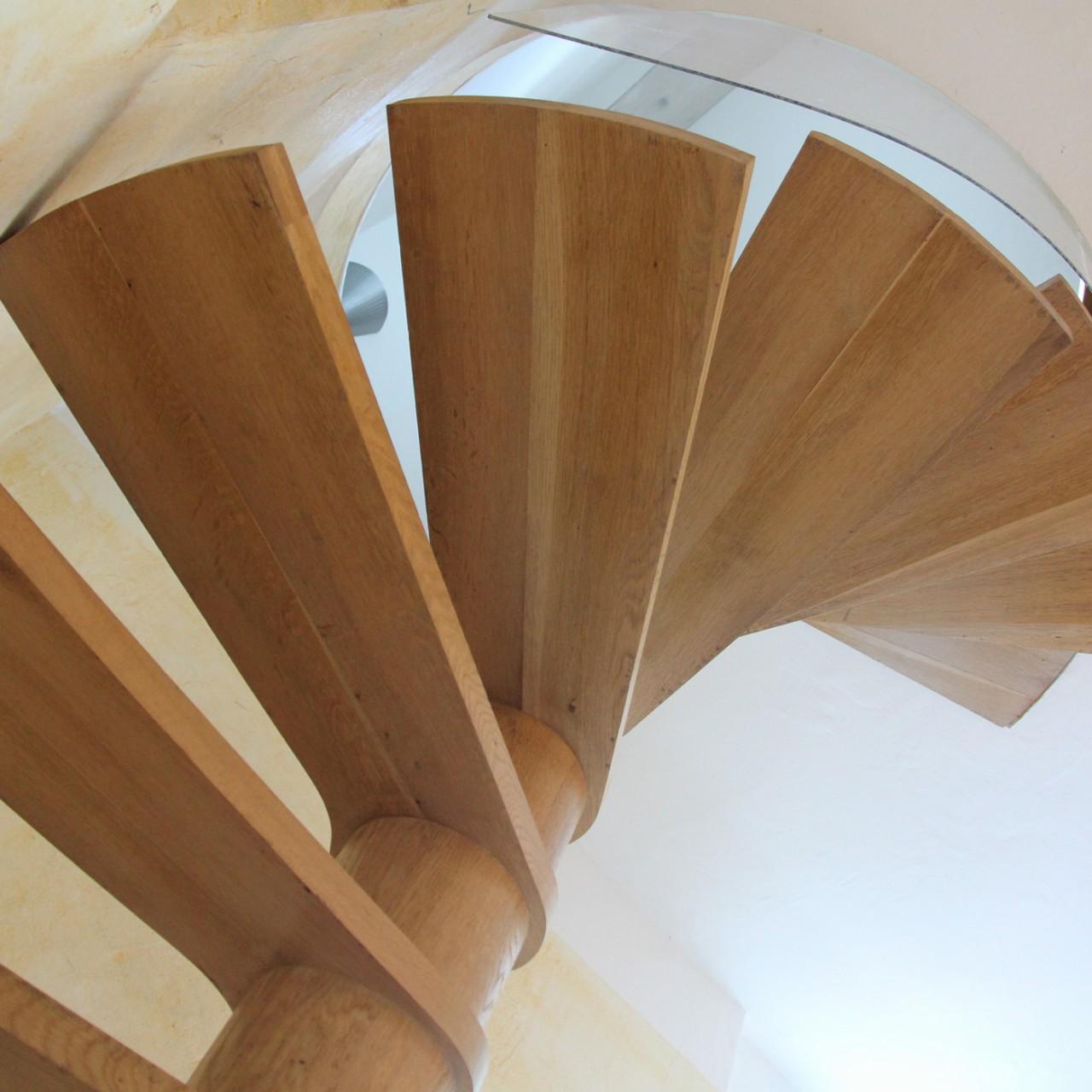 Escalier maison du milieu
